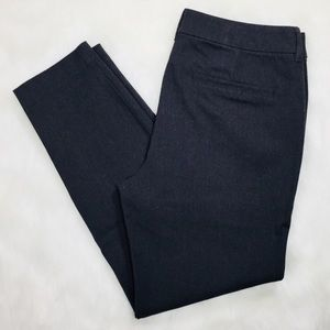 Old Navy Mid Rise Skinny Ankle Cropped Pixie Pants